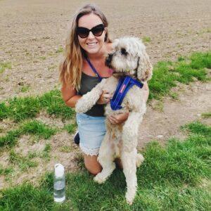 Charlotte and Otis Dog Walker